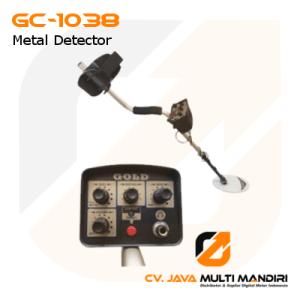 Alat Pendeteksi Metal Dengan Pencari Emas AMTAST GC-1038