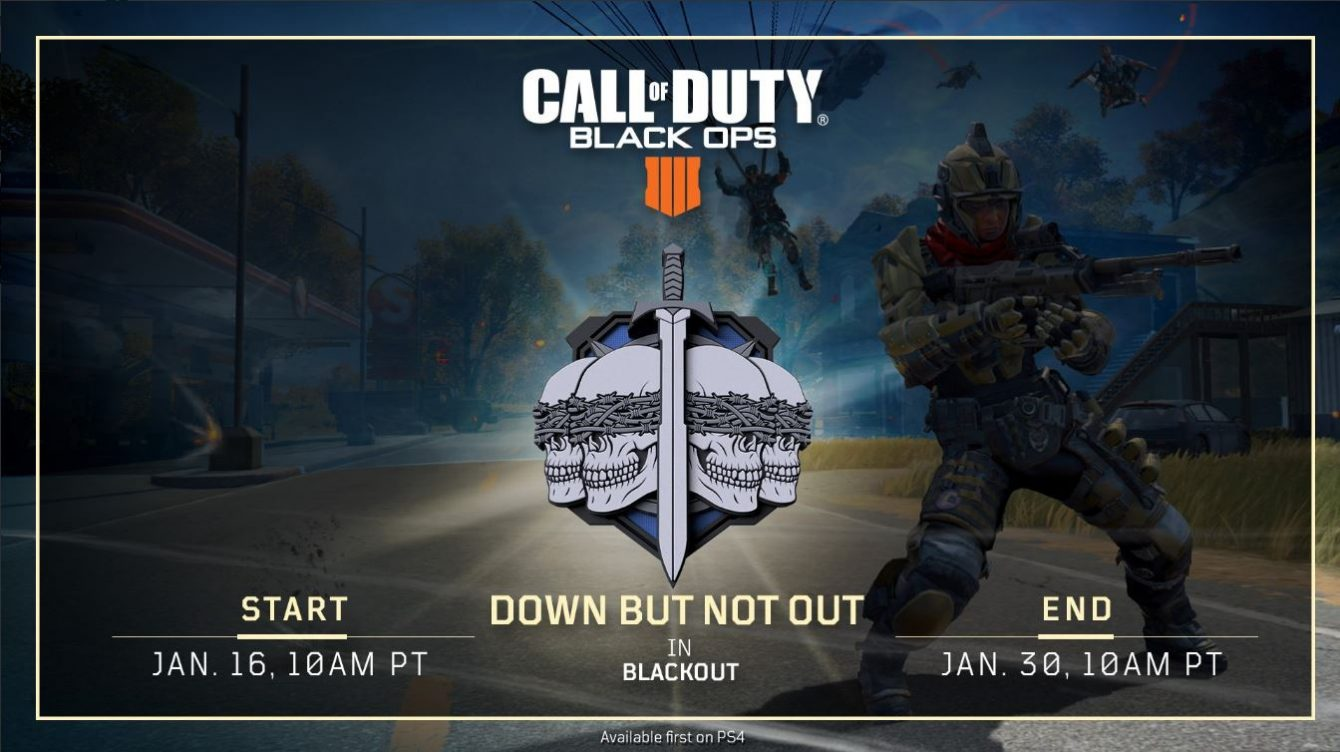 Call of Duty: Black Ops 4 gets limited-time mode with respawning