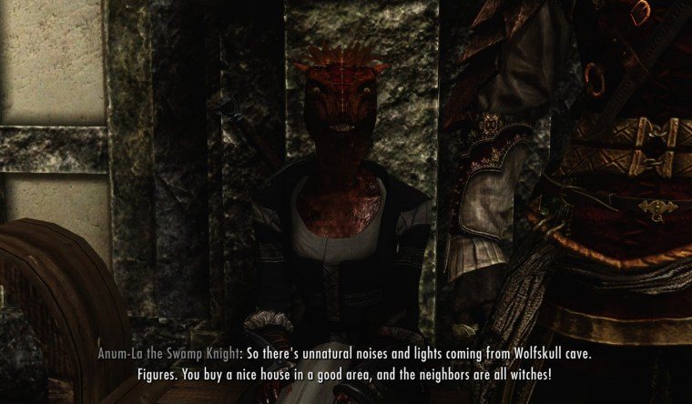 Skyrim marriage dialogue not appearing