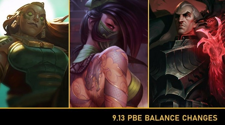 League of Legends 9 13 PBE: Akali, Syndra, Karma, Sona And