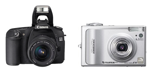 What is better about a dslr when compared to a point and shoot digital camera.