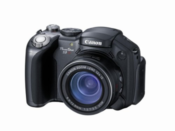 Canon-Powershot-S3-Is-Point-And-Shoot