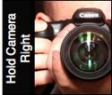 Holding-Camera