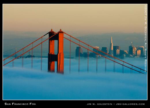 San Francisco Fog Jimgoldstein 520Cc