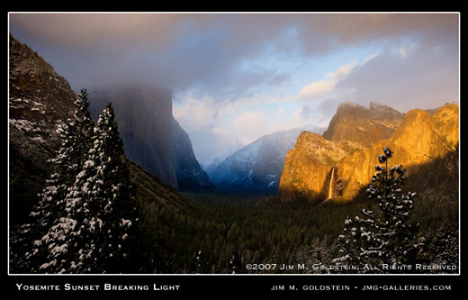 Yosemite Breaking Light Jimgoldstein 520Cc-1