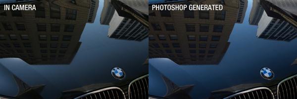 In camera JPG versus Photoshop JPG -2 exposure