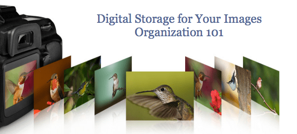 Digital Storage for Your Images – Organization 101