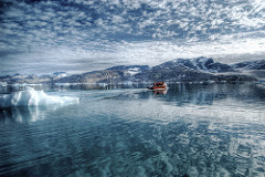 Reflections on the Artic Sea