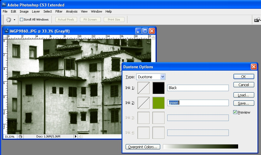 How to Convert an Image to a Duotone in Photoshop