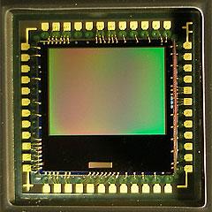 Fig 1.7.0 A typical digital camera sensor and mount.