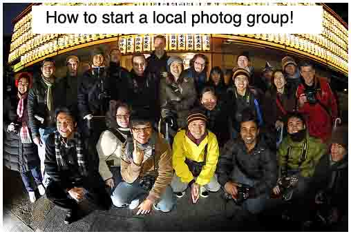 5 Steps To Starting A Photography Group In Your Area