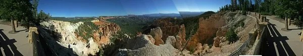 Panoramic Photo Bryce Canyon