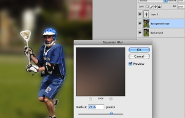how to create depth of field in photoshop cc