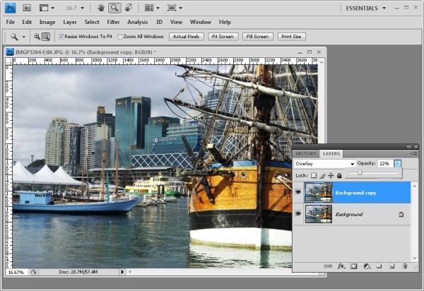 Enhancing Midtones in Photoshop