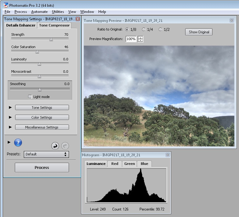 how to create hdr with gimp
