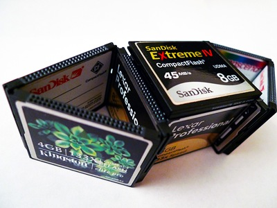 One Large Memory Card Or Multiple Small Cards
