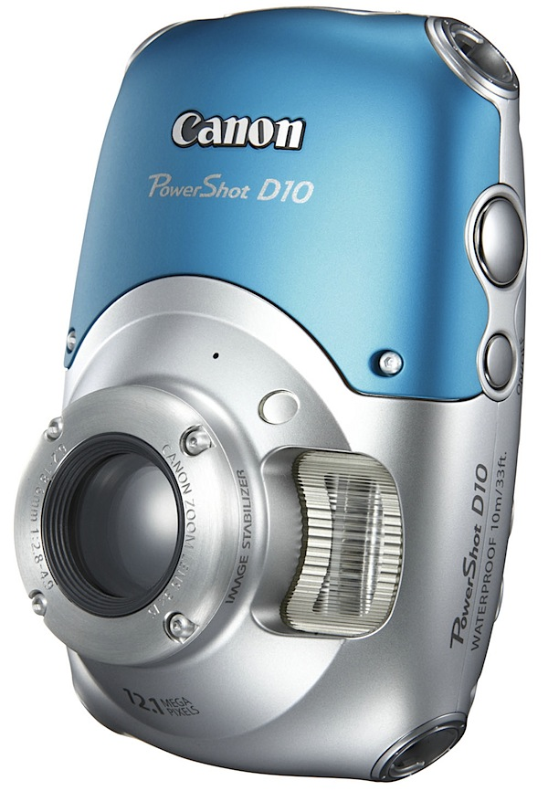 Canon Powershot D10 – Review