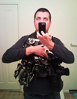This Guy Might Be Packing Too Much - Image by Brian Auer