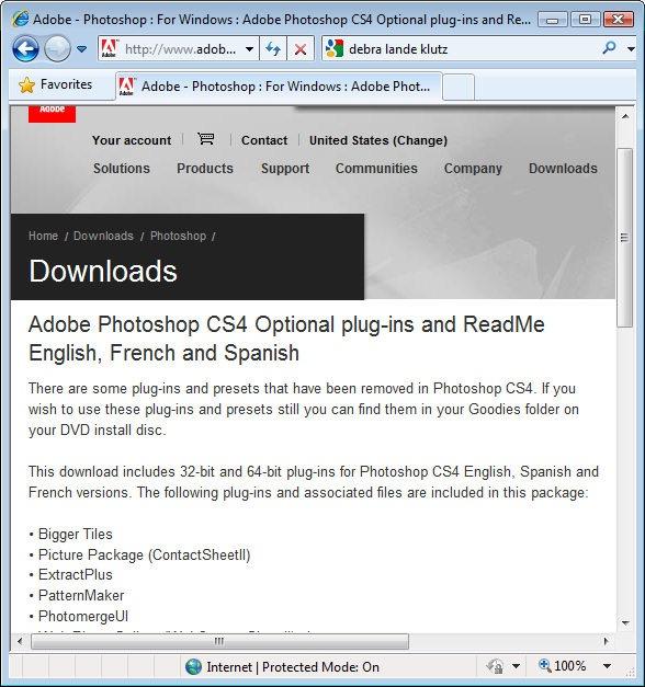 Cs4 pdf photoshop adobe manual
