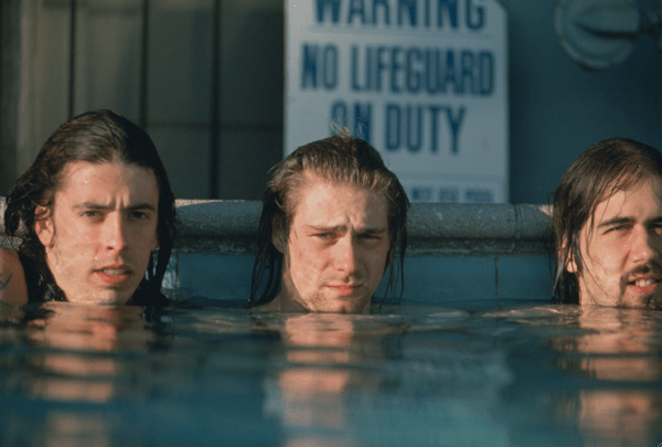 Image: Nirvana, In for a swim by Kirk Weddle