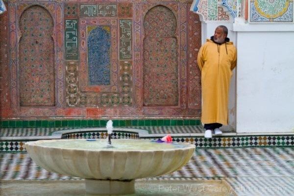 Fountain In Mosque, Morocco