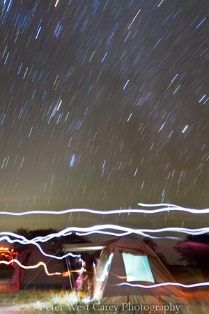 Serengeti Star Trails