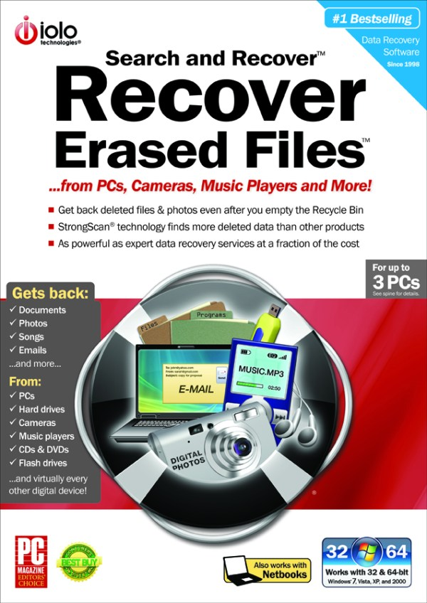 Recovering lost or deleted files – Backing Up & Saving Your Images: Part 4