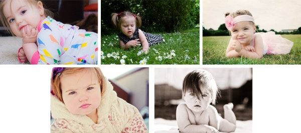 Different ways to Photograph your Baby