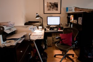 Image: My office as I'm writing this