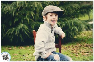 Child Photography - The Power of a Fake Laugh