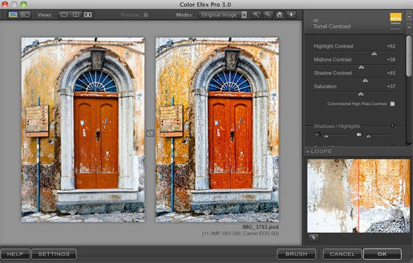 How to Enhance Texture with the Tonal Contrast Filter in Nik Color Efex Pro