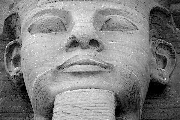 History - Ramses II Closeup - Abu Simbel, Egypt - Copyright 2010 Ralph Velasco.jpg