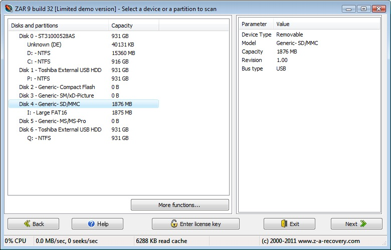 4card recovery registration key crack