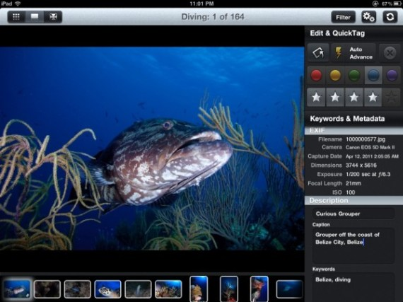 Photosmith – the iPad mobile companion for Adobe Lightroom (Win a Copy)