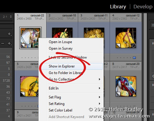 Where are my Lightroom Files?