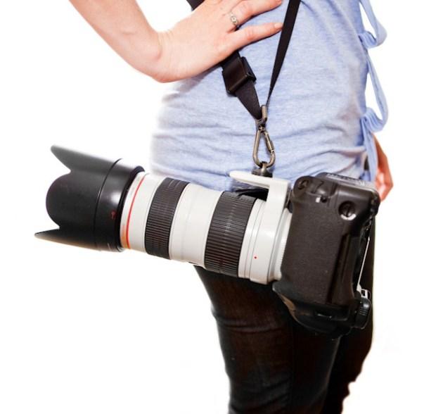 黑色Rapid RS-7相机背带评测