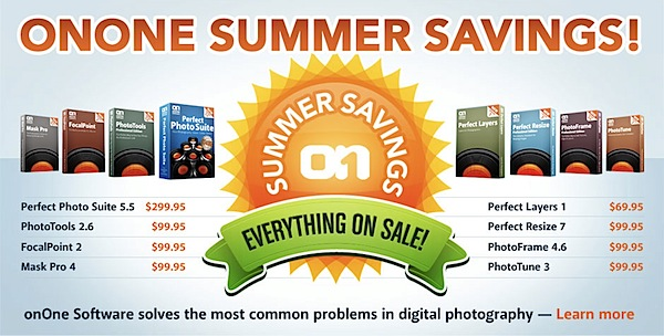 OnOne Software Reduce Prices by up to 61% [Summer Sale]