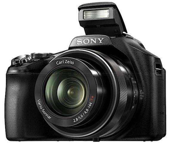 索尼HX100V-flash.jpg