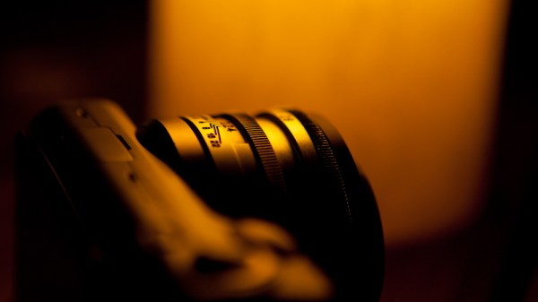Image: SLR Magic, perfectly at home on the Sony NEX-5