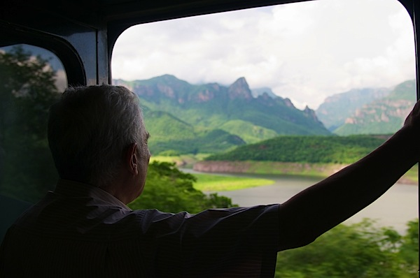 16 Man Looking Out Window Adjusted - Copper Canyon, Mexico - Copyright 2011 Ralph Velasco.jpg