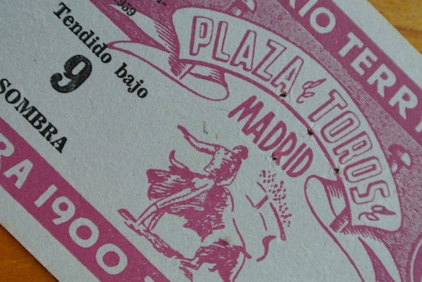 Bull fight ticket.JPG