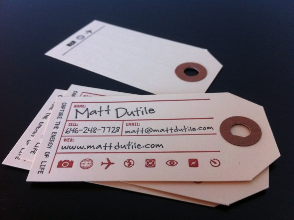Branding Your Photography Business – Part 2: Business Cards