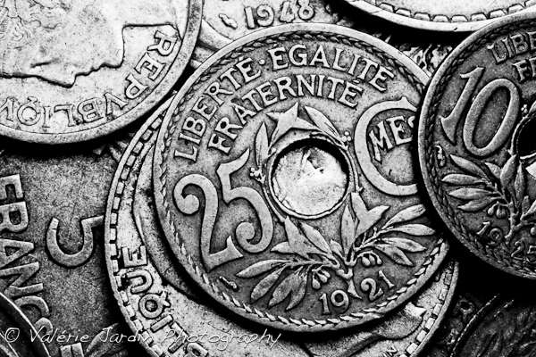Image: I had never paid much attention to those old French coins until I decided to experiment with...