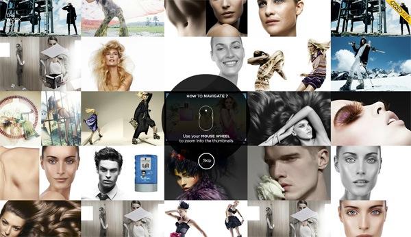 photo gallery website