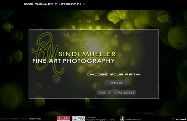 photo portfolio website