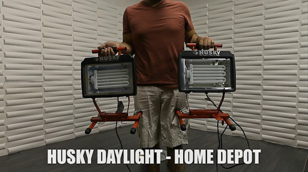 Shooting Products and Video Using Home Depot Lighting
