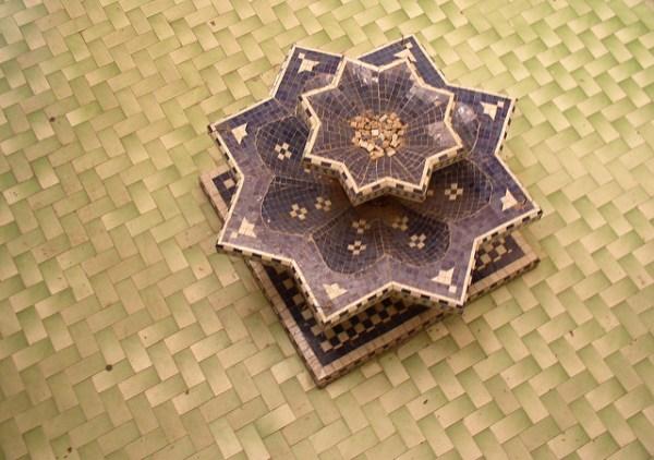 Marrakech: riad fountain