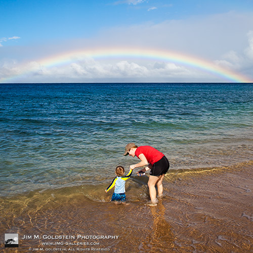 Under the Rainbow - Photo by Jim M. Goldstein