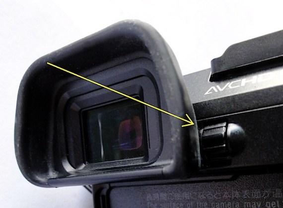索尼NEX-7 dioptre control.jpg