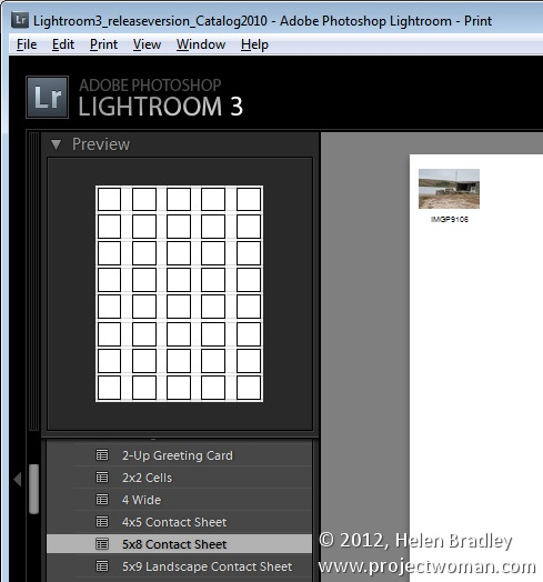 How To Create Contact Sheets In Lightroom